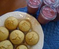 Healthy and Fast Meals:  Smoothies and Muffins